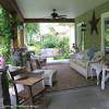 front porch with beautiful porch furniture