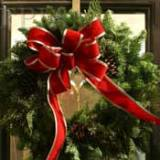 DIY instructions for making christmas wreaths