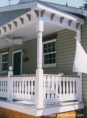 vintagewoodworks.com exterior house trim on home