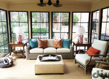 Screened porch windows from DIY Eze Breeze