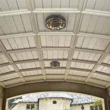 porch ceiling lights on tongue groove ceiling