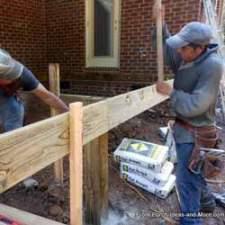 installing rim boards on deck