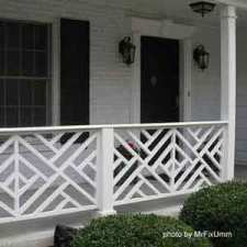 chippendale front porch railings on front porch