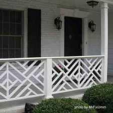 chippendale front porch railings on front porch