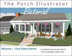 Porch Illustrator Pictorial eBook volume 1 - one story home
