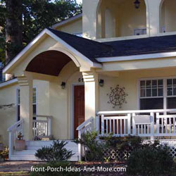 Porch roof construction how to build porch roof porch for Shed style porch roof