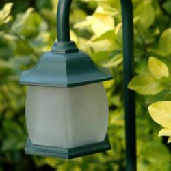 outdoor light to show how to Install Landscape Lighting
