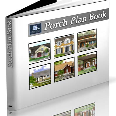 Small Porch Plans ebook contains six separate plans