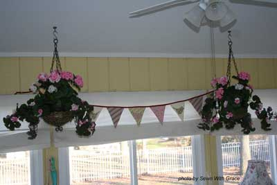 Easy decorating ideas - banner