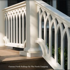 custom porch railings from Porchco.com