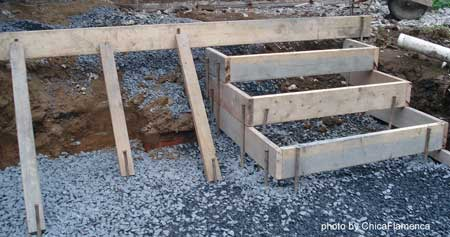 Concrete Stairs Form