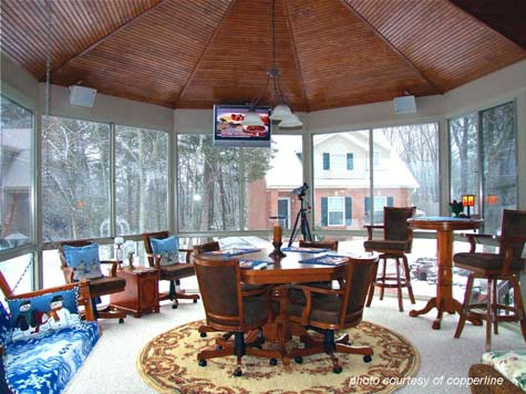 Sunroom flooring sunroom ideas sunroom designs three for 3 season sunroom designs