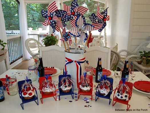 4th of july celebration 4th of july party ideas 4th of for Decoration 4 july