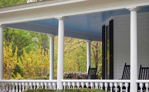 Structural Fiberglass Columns : Structural vinyl porch columns for front