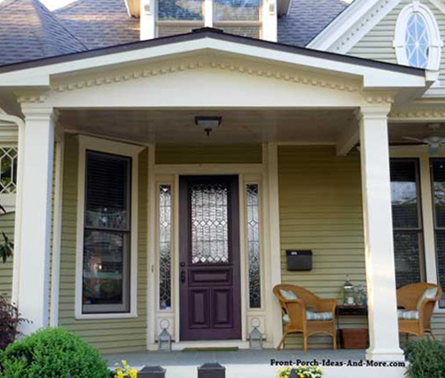 Front Door Porch Design Ideas Porch Roof Designs Porch: Small Porch Plans