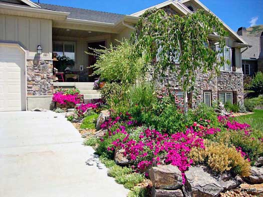 informal landscaping tips