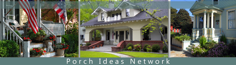 Porch Ideas Network collage