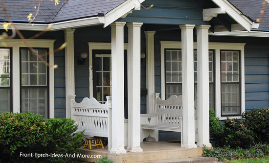 Porch columns front porch columns for House plans with front porch columns