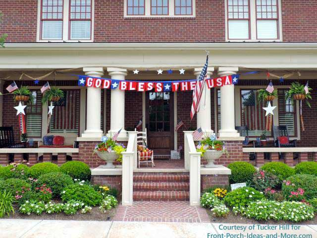 God bless the USA on this patriotic home