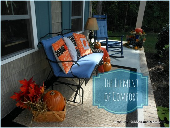 Make your porch comfortable for all seasons