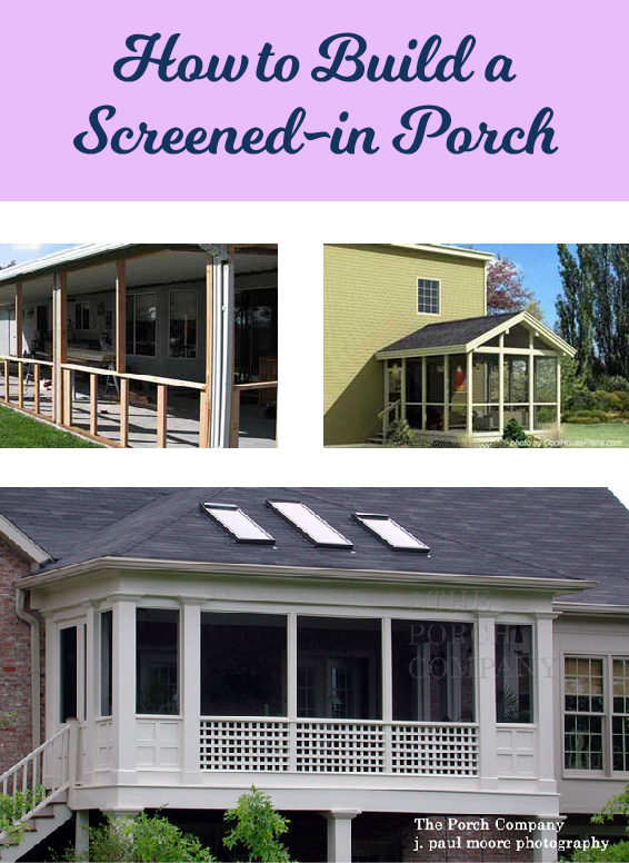 Consider adding a screened porch to your home