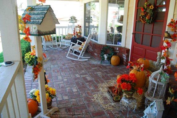 Autumn porch