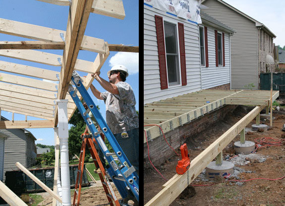 build a porch and use our helpful guides and tips