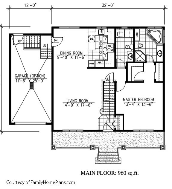 cape cod layout from plan by Family Home Plans