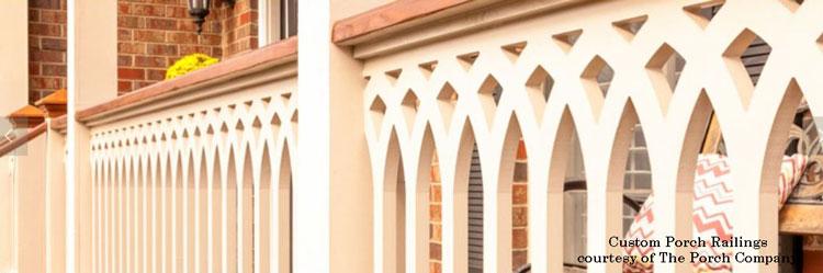The Porch Company custom porch railings