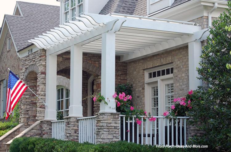 extend your porch with a pergola. Interior Design Ideas. Home Design Ideas