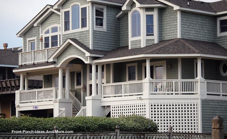 fantastic Duck NC Beach House Porch