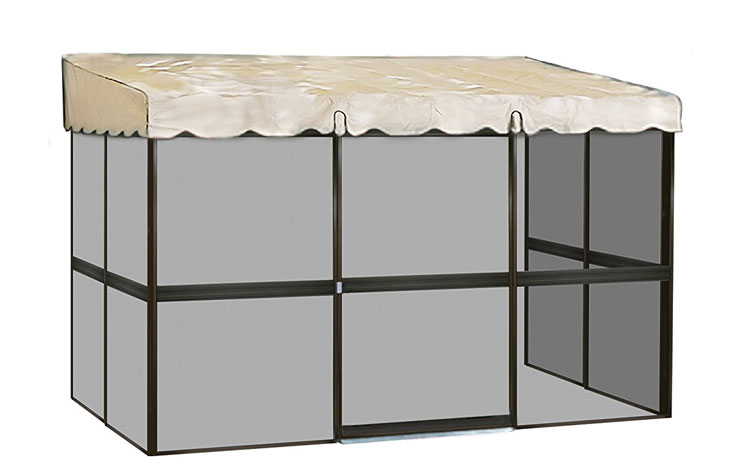 Patio Mate 7-Panel Screen Enclosure