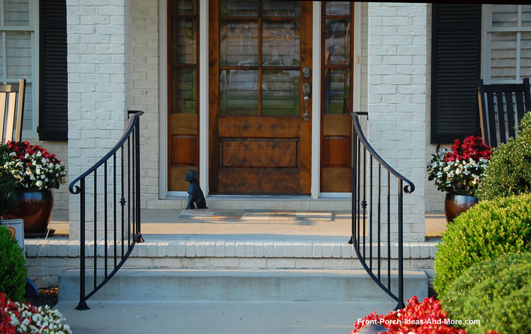 Beautiful metail stair hand rails