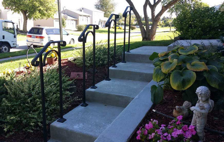 5 step DIY Porch Handrail from Amazon