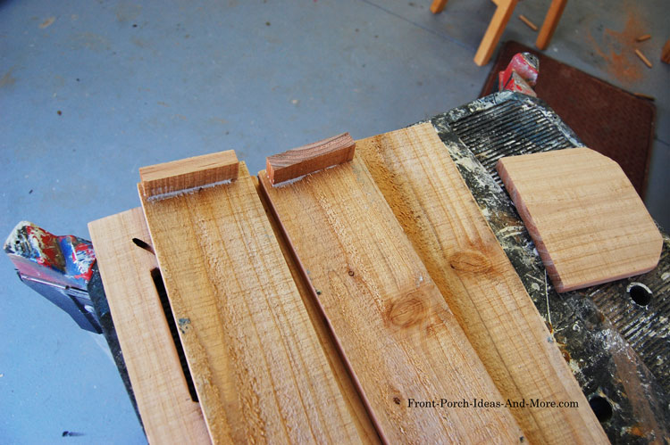 attaching bottom holders to sides of butterfly house