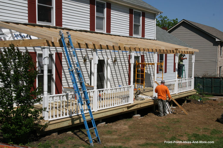 Building Permits How To Build A Porch