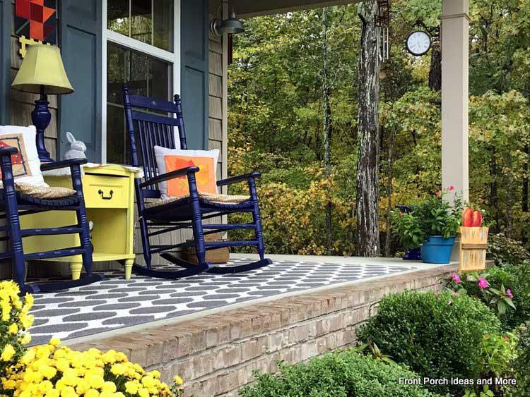 our autumn porch