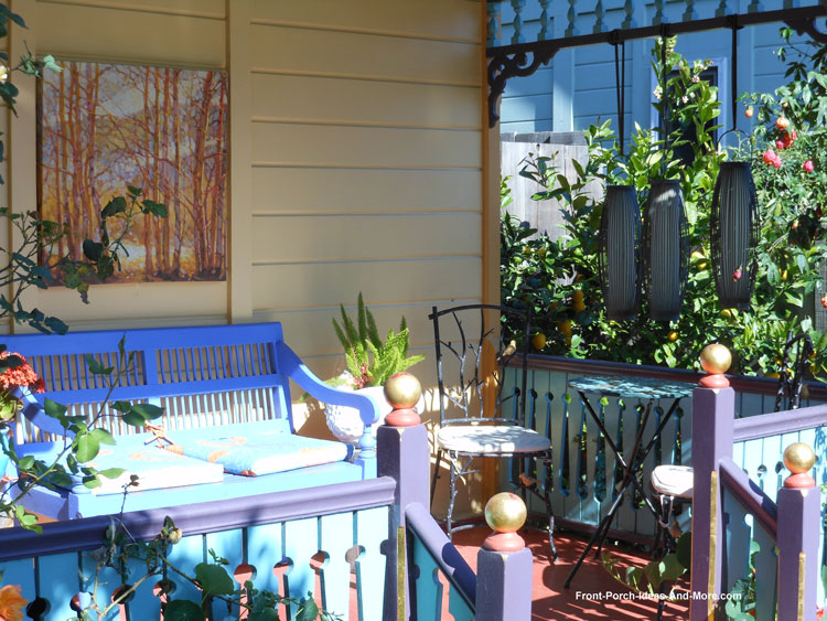 Pacific Grove California front porch