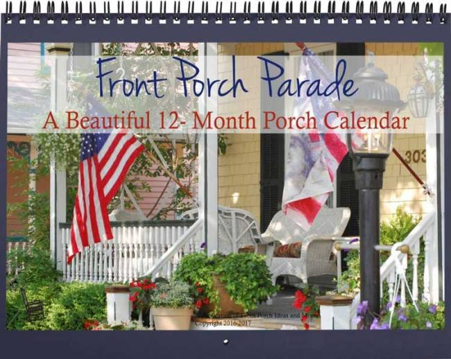 beautiful 12 month front porh calendar