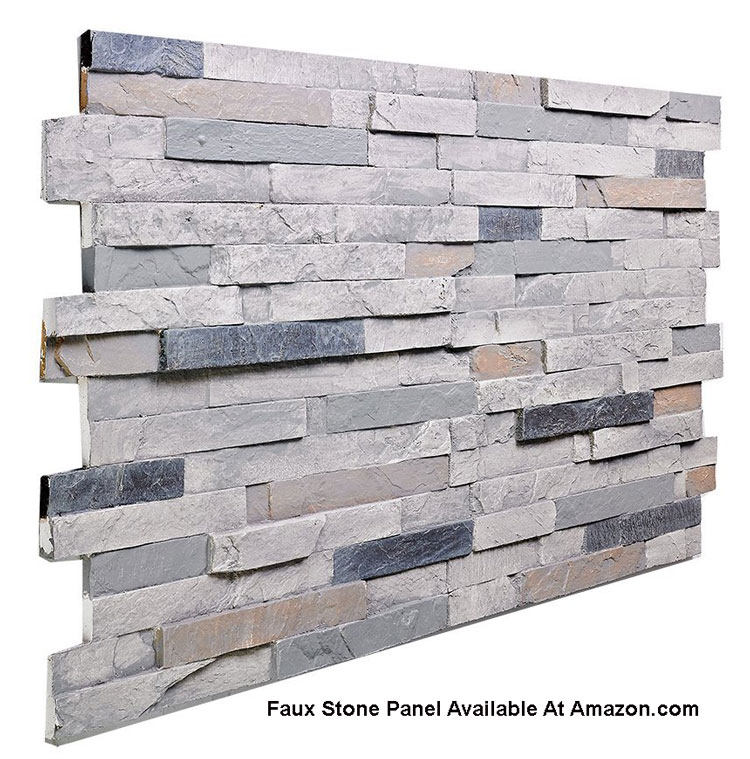 faux stone porch skirting panel from Amazon.com