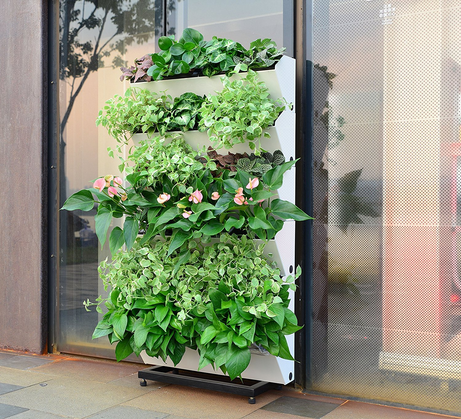 SavvyGrow BloomWall Vertical Planter with Savvy Edge Technology available at Amazon.com