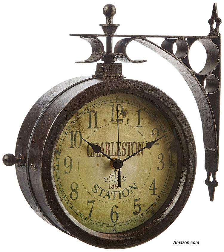 double sided charleston clock from amazon.com