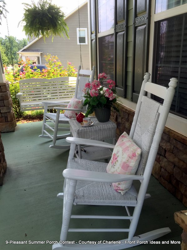 Pleasant Summer Porch contest entry