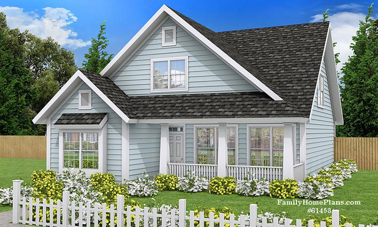 cottage house plan 61453