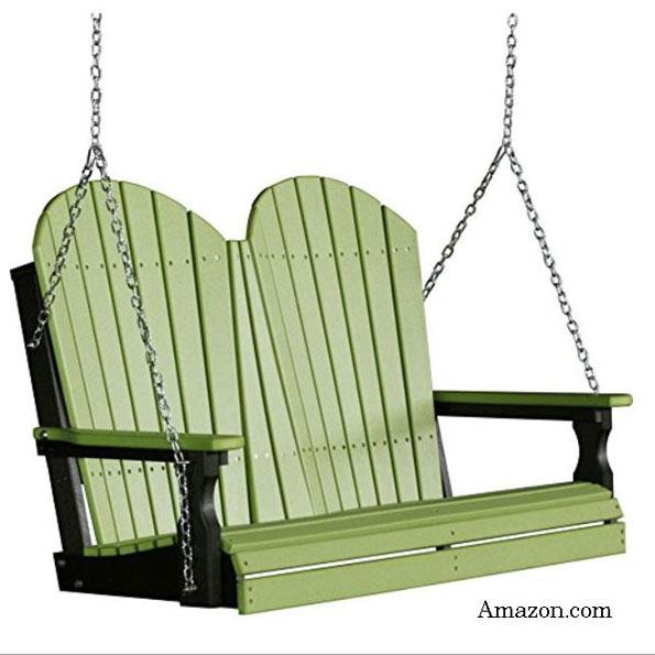 classic Adirondack porch swing