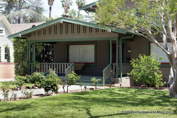 example of an airplane bungalow in south pasadena california