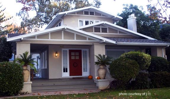 iconic Craftsman airplane bungalow