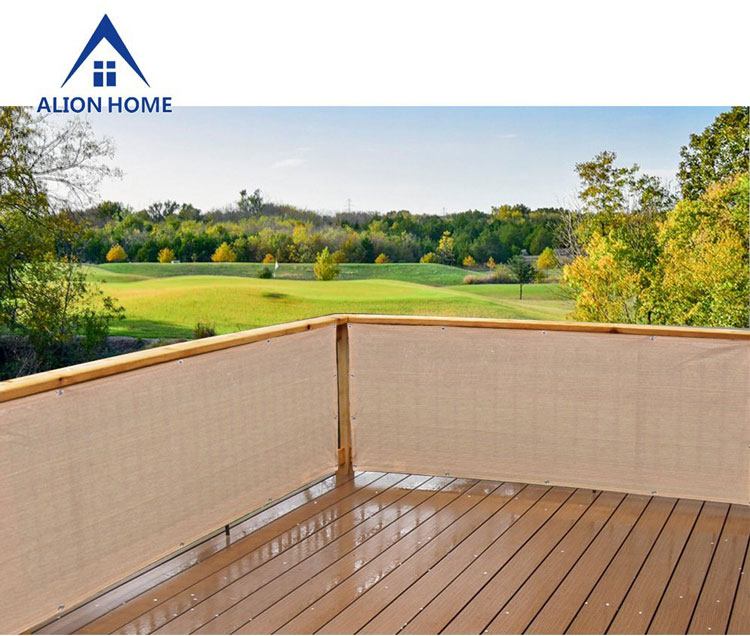 Alion privacy screen on back deck