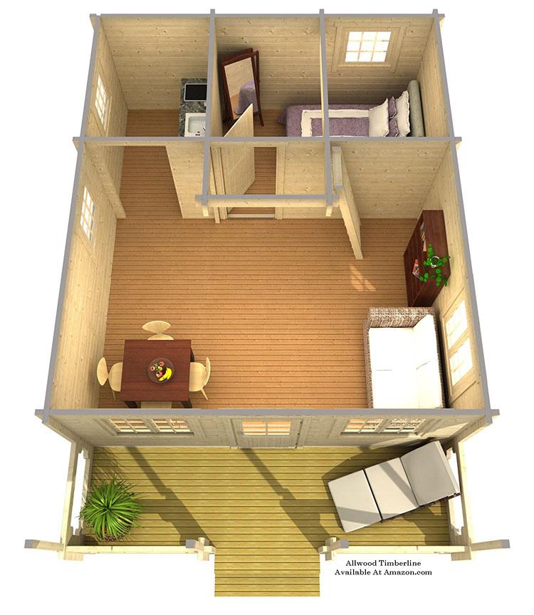 allwood eagle point tiny house