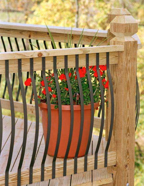Aluminum Porch Railing | Aluminum Deck Railing | Deck ...